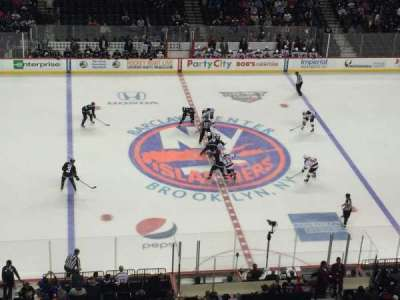 Barclays Center, row: 1