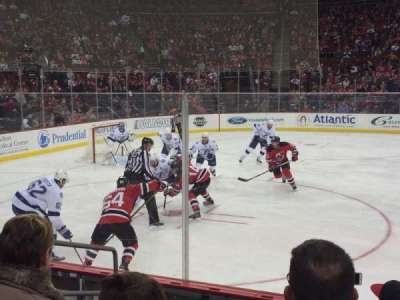 Prudential Center, section: 7, row: 6, seat: 16