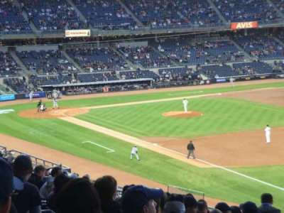 Yankee Stadium, section: 211, row: 17, seat: 2