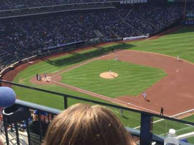 Citi Field, section: 505, row: 2, seat: 16