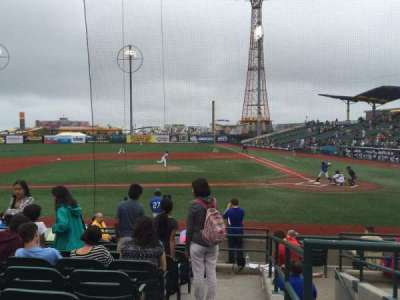 MCU Park, section: 9, row: M, seat: 1