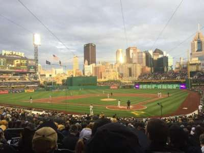 PNC Park, section: 117, row: q, seat: 19