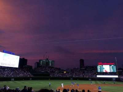 Wrigley Field, section: 206
