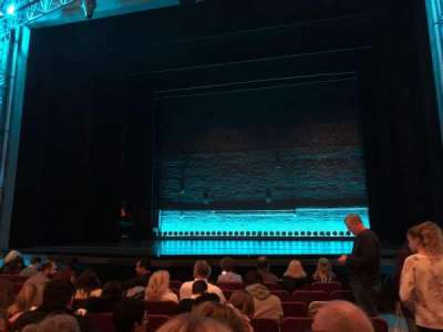 Broadhurst Theatre, section: Orchestra C, row: J, seat: 114