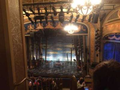 Gerald Schoenfeld Theatre, section: Mezz, row: K, seat: 2