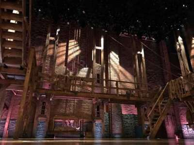 Richard Rodgers Theatre, section: Orchestra, row: CC, seat: 113