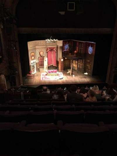 Lyceum Theatre (Broadway), section: Mezzo, row: G, seat: 110