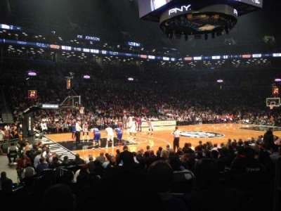 Barclays Center, section: 26, row: 9, seat: 4