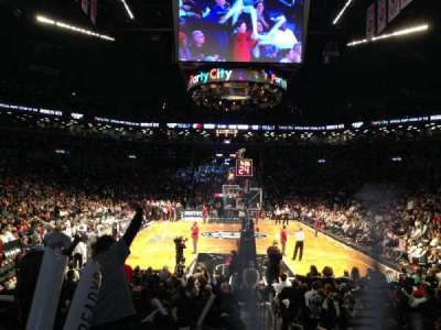 Barclays Center, section: 1, row: 11, seat: 1