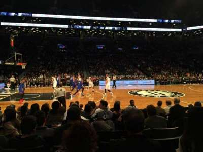Barclays Center, section: 25, row: 5, seat: 8