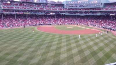 Fenway Park section Green Monster 9