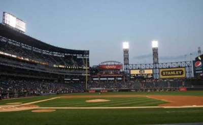 Guaranteed Rate Field, section: 126, row: 9, seat: 2