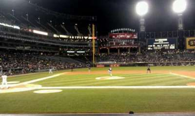 Guaranteed Rate Field, section: 126, row: 9, seat: 3