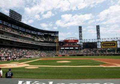 Guaranteed Rate Field, section: 126, row: 9, seat: 4