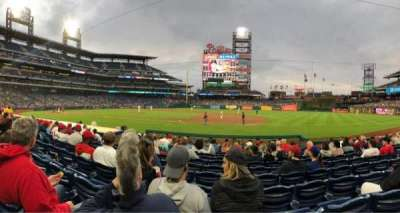 Citizens Bank Park, section: 115, row: 12, seat: 9