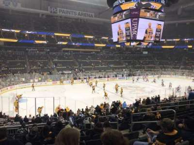 PPG Paints Arena, section: 115, row: X, seat: 8