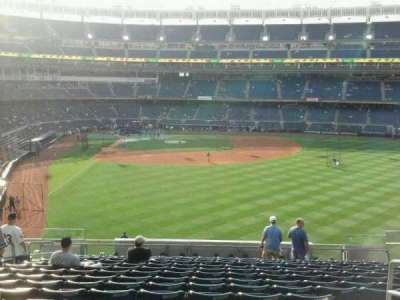 Yankee Stadium section 205