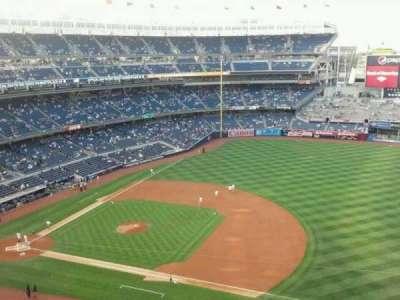Yankee Stadium, section: 414, row: 1, seat: 8