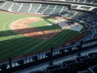 Citi Field, section: 427, row: 4, seat: 7