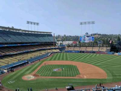 Dodger Stadium, section: 16rs, row: A, seat: 3
