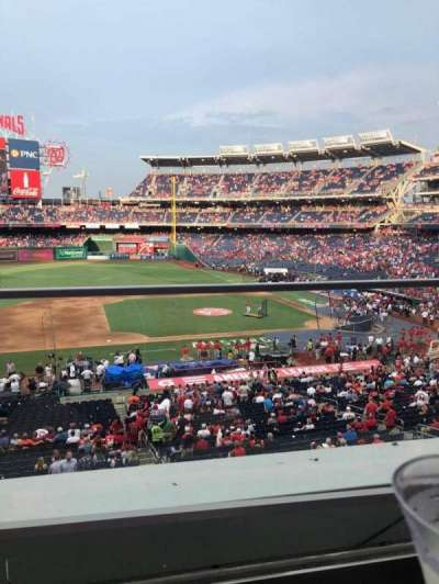 Nationals Park section 208