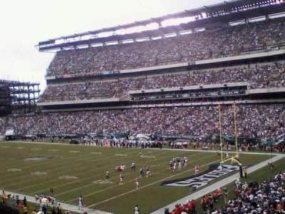 Lincoln Financial Field section SRO
