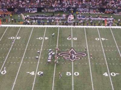 Mercedes-Benz Superdome section 640