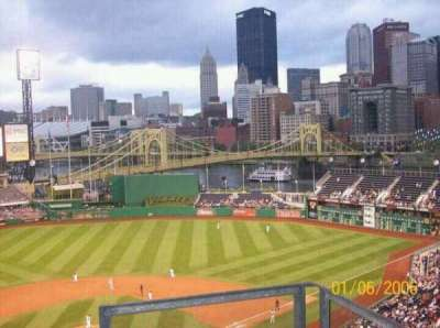 PNC Park, section: 315, row: J, seat: 3
