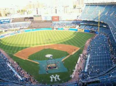 Old Yankee Stadium section TIER2