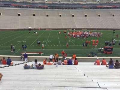 Memorial Stadium, Clemson section G