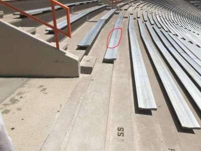 Memorial Stadium, Clemson section R