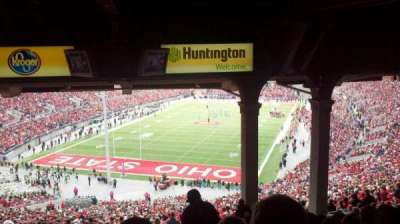 Ohio Stadium, section: 3B, row: 16, seat: 17