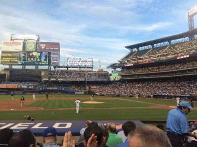 Citi Field, section: 121, row: 7, seat: 12