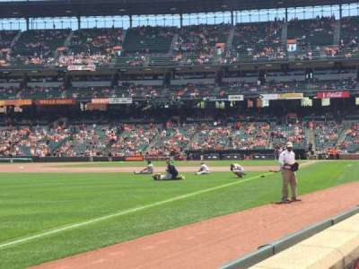 Oriole Park at Camden Yards, section: 68, row: A, seat: 1