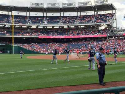 Nationals Park, section: 112, row: D, seat: 21