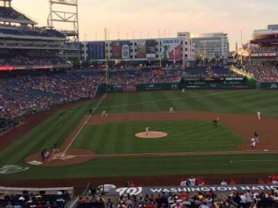 Nationals Park section 218