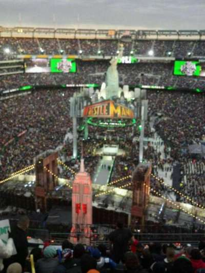 MetLife Stadium, section: 350, row: 15, seat: 21