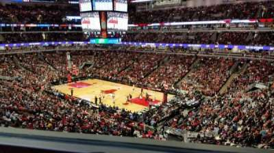 United Center, section: Harris Club, row: 1, seat: GA