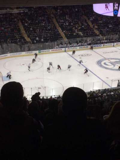 Madison Square Garden, section: 221, row: 18, seat: 20