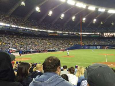 Olympic Stadium, Montreal, section: 111, row: PP, seat: 7
