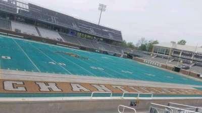 Brooks Stadium, section: 103, row: H, seat: 15