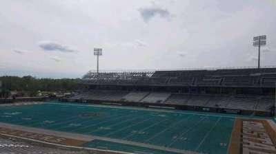 Brooks Stadium, section: 209, row: f, seat: 4
