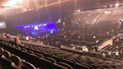 Genting Arena, section: 13, row: U, seat: 422