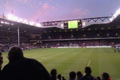 White Hart Lane, section: 19, row: 20 , seat: 73