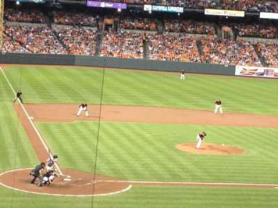 Oriole Park at Camden Yards section 29