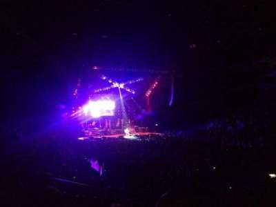Infinite Energy Arena, section: 121, row: U, seat: 15