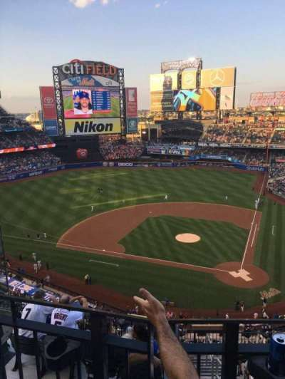 Citi Field, section: 518, row: 2, seat: 12