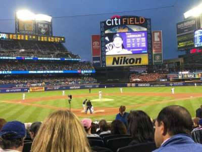 Citi Field, section: 15, row: 17, seat: 15