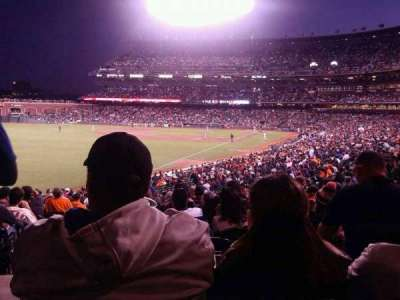 AT&T Park, section: 134, row: 33, seat: 12
