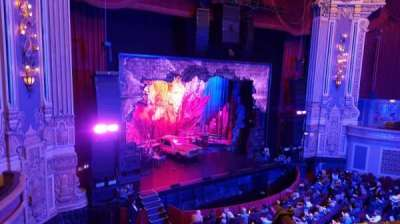 Oriental Theatre, section: LOGE-L, row: A, seat: 357